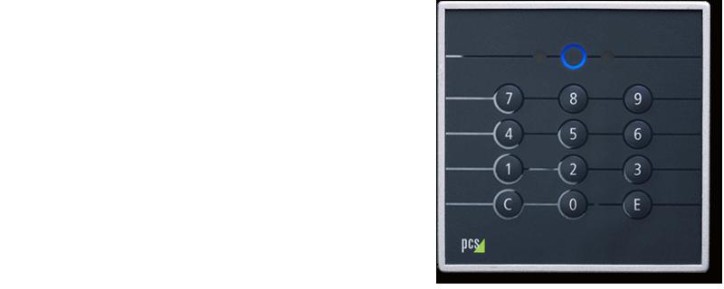 RFID-Zutrittsleser INTUS 620