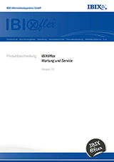 IBIX@flex Wartung & Service 2.9