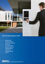 IBIX Produkt-Flyer - Lösungen für Zutrittskontrolle und Zeiterfassung