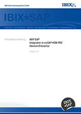 IBIX*SAP Produktbeschreibung 2.9